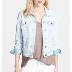 Halogen light denim jacket